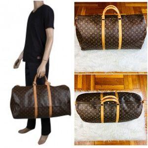 Louis Vuitton Keepall 60 Travel Luggage